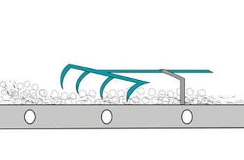 Exemple Pré-humidification du sable de décochage FRS-A