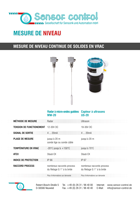 Download flyer Mesure des niveau |Filling Level Measurement